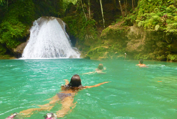 Blue Hole, Secret Falls & Dolphin Swim Adventure
