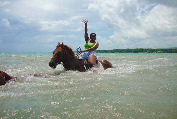 Heritage Beach Horseback Ride, Blue Hole & Secret Falls | Book Jamaica Excursions | bookjamaicaexcursions.com | Karandas Tours