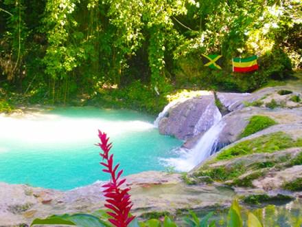Blue Hole & Secrets Falls | Book Jamaica Excursions | bookjamaicaexcursions.com | Karandas Tours