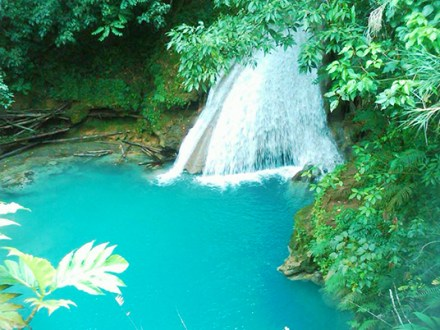 Blue Hole, Secret Falls & Bamboo Blu Beach Adventure | Book Jamaica Excursions | bookjamaicaexcursions.com | Karandas Tours
