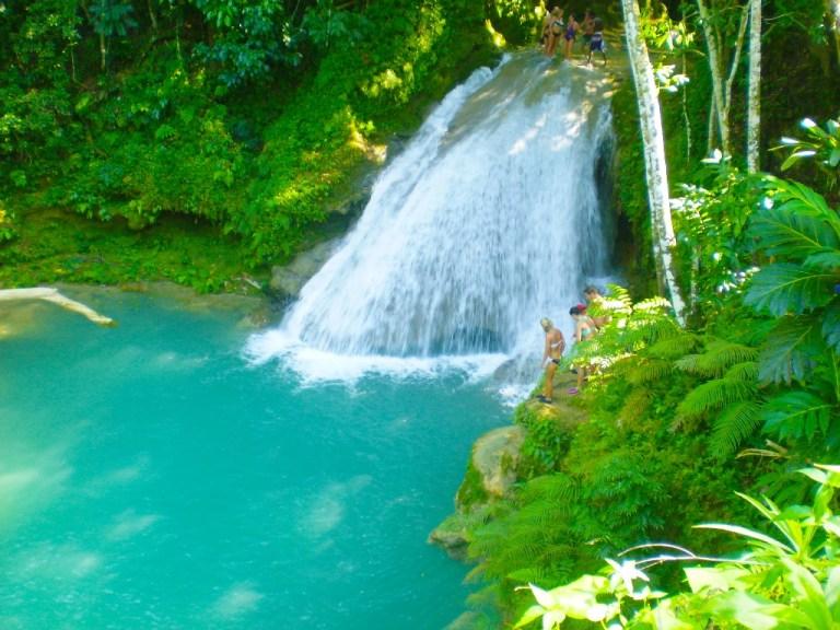 Blue Hole & Secret Falls | Book Jamaica Excursions | bookjamaicaexcursions.com | Karandas Tours
