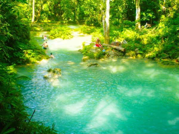 Blue Hole & Secret Falls | Book Jamaica Excursions | bookjamaicaexcursions.com | Karandas Tours