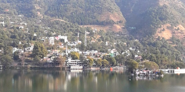 Lake view - Bhimtal lake