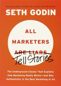 All Marketers are Liars in 7 Marketing books to read this summer