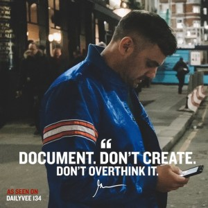 Document, Don't create. Crushing it book review