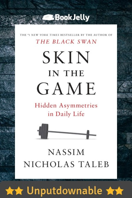 Book Review | Skin in the Game | BookJelly