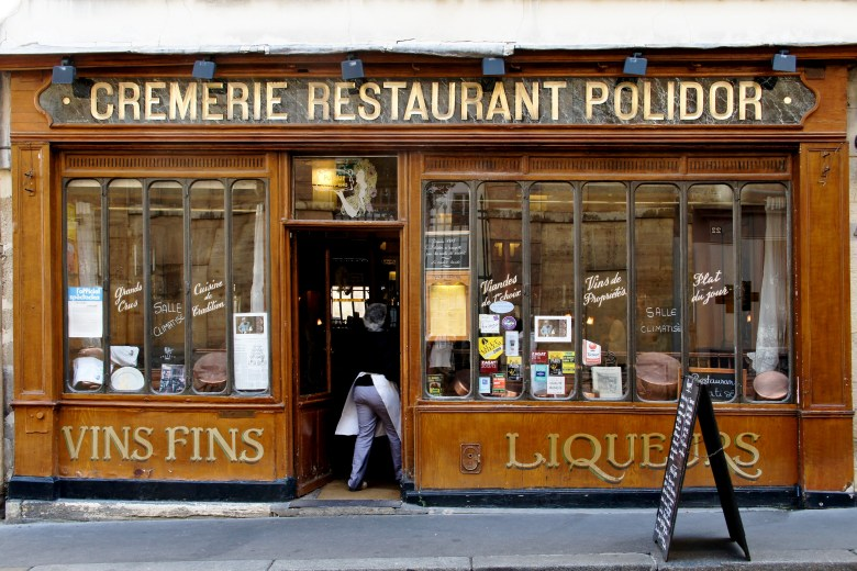 Restaurant Polidor, literary destinations in Paris