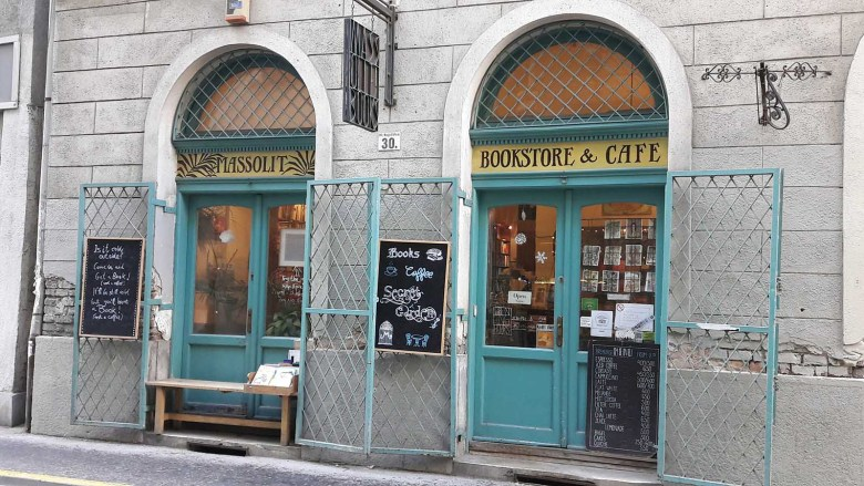 Massolit Bookstore Budapest