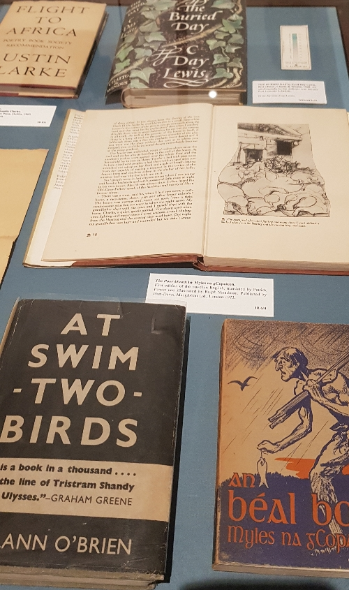 BOOKS IN CASE