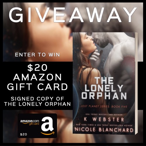 The Lonely Orphan Giveaway