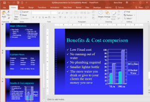 Microsoft PowerPoint Intermediate Training Course 402 – Outline, Slide Sorter, Presentation Order