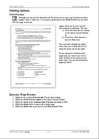 Microsoft Word Beginners Training Course 202 – Font Formatting & Default Settings