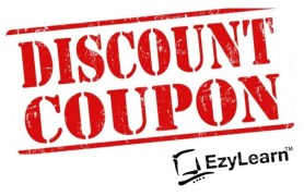 EzyLearn Discount Voucher Coupons online training for Office, Excel, Xero, MYOB, Marketing courses 2