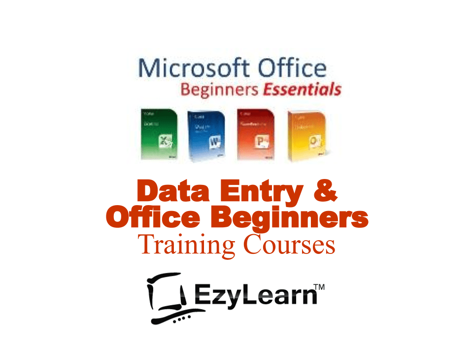 Data Entry & Microsoft Office Essentials Training Course Package