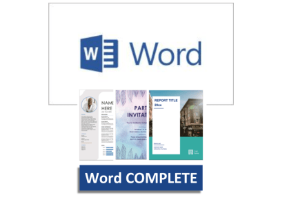 Microsoft Word Beginners to Advanced COMPLETE Training Course, Tutoring and Support - Get office support & admin jobs - EzyLearn
