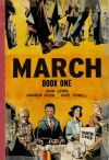 March (Book One) - Andrew Aydin, Nate Powell, John Robert Lewis