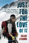 Just for the love of it - Cathy O'Dowd