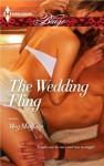 The Wedding Fling (Harlequin Blaze #734) - Meg  Maguire