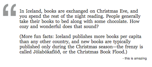 Information about the Christmas Book Flood in Iceland