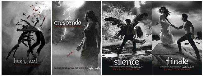 Image result for hush hush series