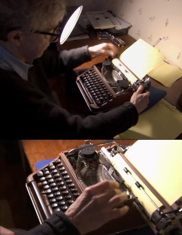 Woody Allen - Olympia SM3 (ta sama od 50 lat!).