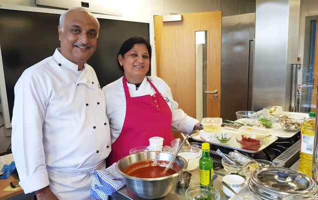 Book Look Cook Indian Cookery Classes in Epsom Surrey London