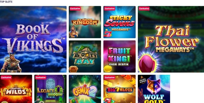 Слоты в казино Party Casino