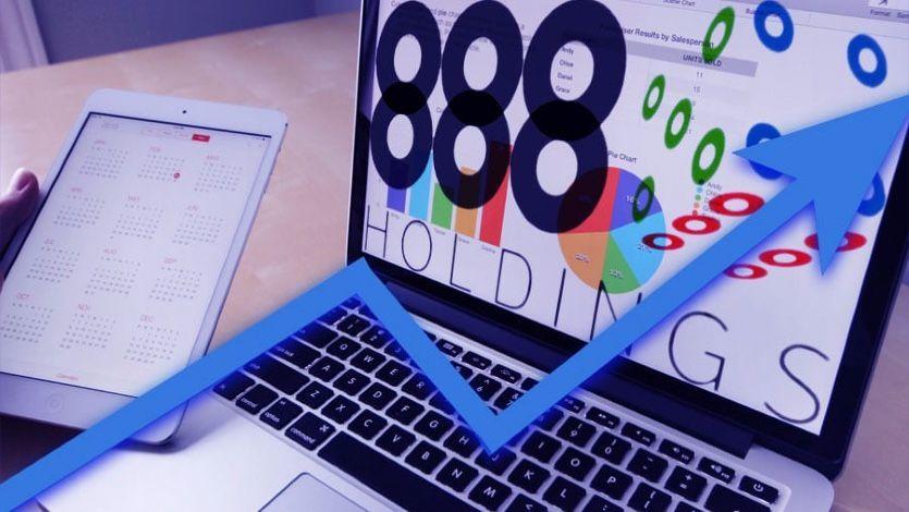 Прибыль 888 Holdings увеличивалась почти в два раза в первом полугодии 2020 года