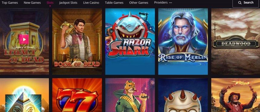 Слоты в казино PlayGrand