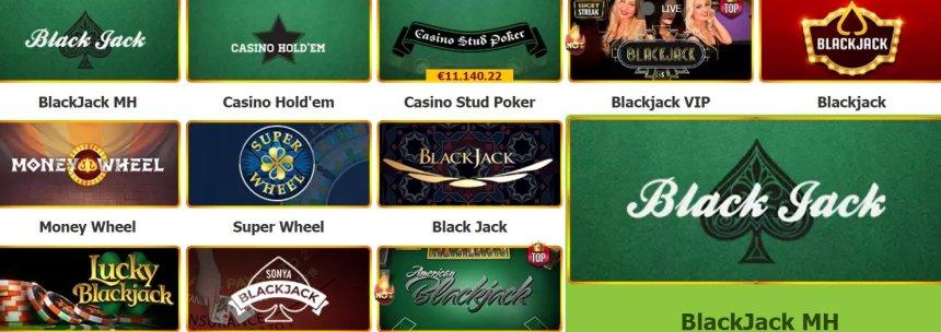 Карточные игры в Casino Token