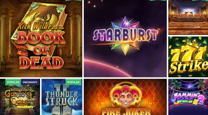 Слоты в казино Slots Magic
