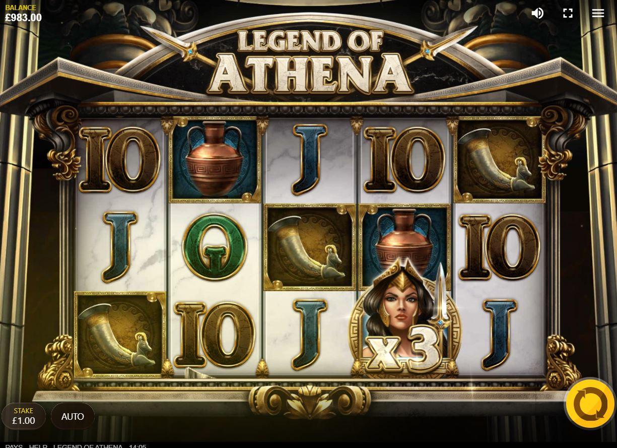 Legend of Athena – Red Tiger