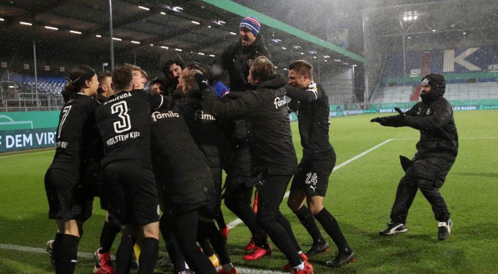 """""""Бавария"""" впервые с 2004 года вылетела из Кубка Германии от команды низшего дивизиона"""