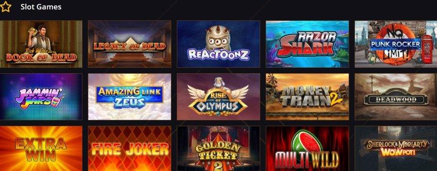 Слоты в казино 21 Casino