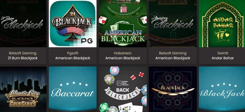 Блэкджек в National Casino