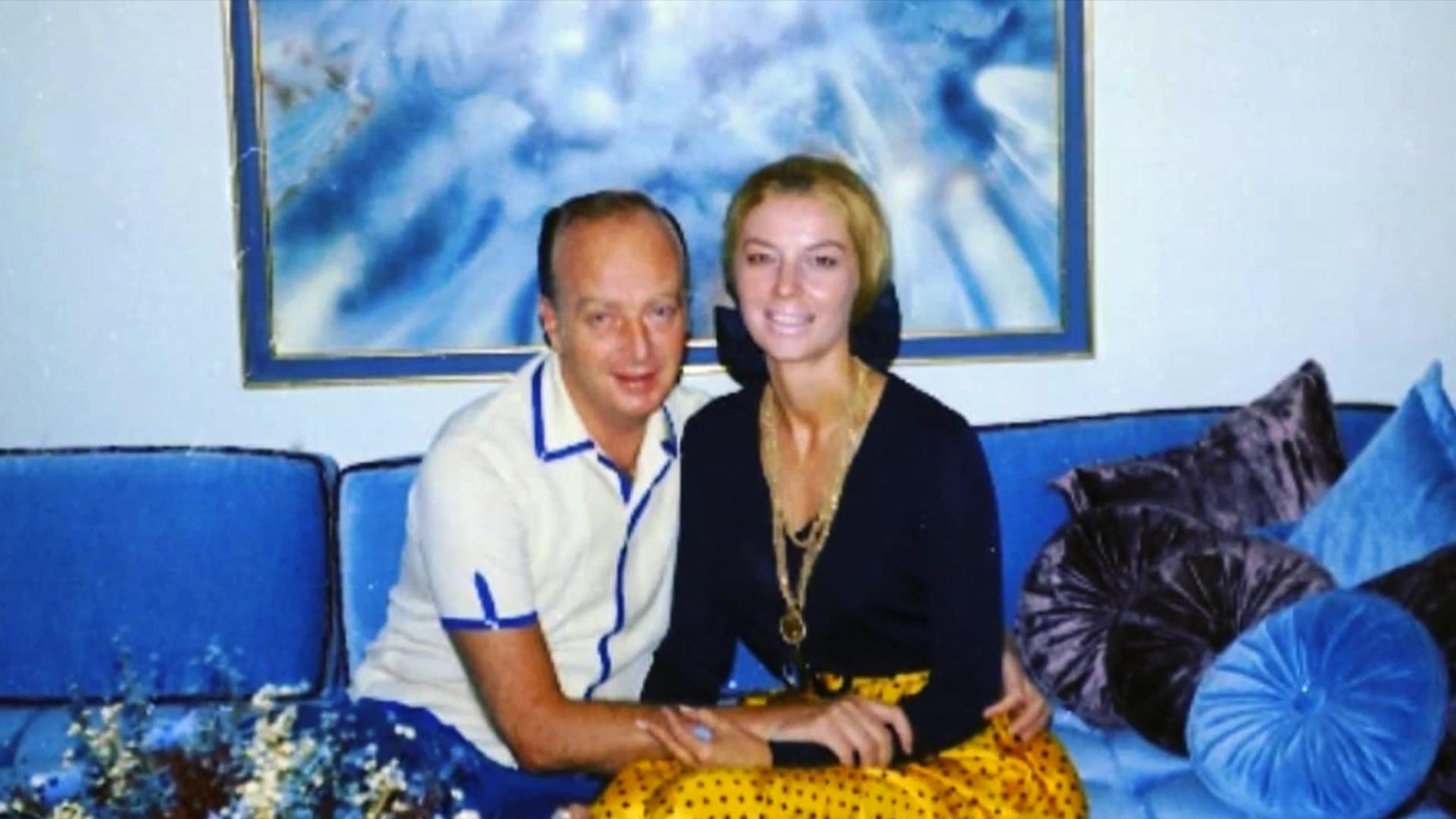 Фрэнк Розенталь с женой Джерри Макги