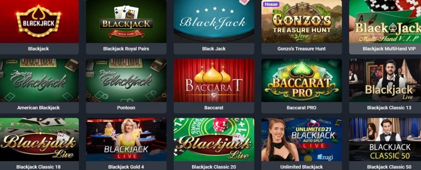 Настольные игры в казино iLUCKI
