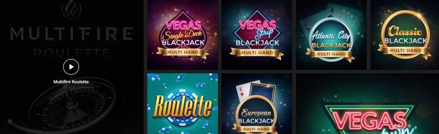 Настольные игры в казино Weltbet