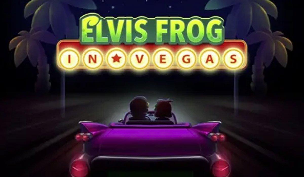 Игрок сорвал джекпот в слоте Elvis Frog in Vegas от BGaming