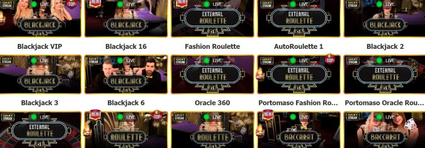 Живые игры в Casino Token