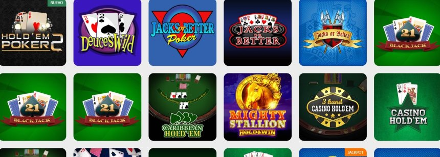 Настольный игры в казино Ganabet