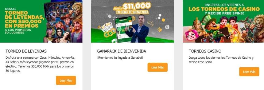 Турниры в казино Ganabet