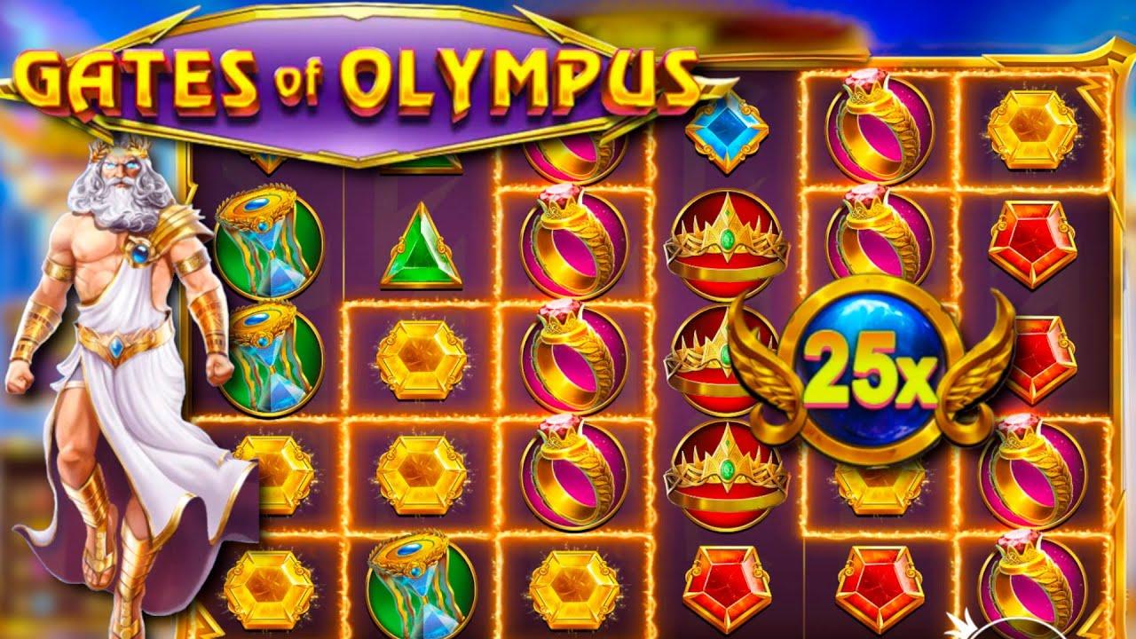 Игрок сорвал джекпот в слоте Gates of Olympus от Pragmatic Play