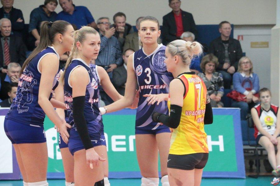 Волейболистки «Енисея» победили «Уйпешт»