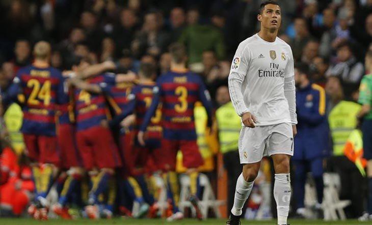 У матчі першого кола на «Сантьяго Бернабеу» «Барса» знищила «Реал» з рахунком 0:4