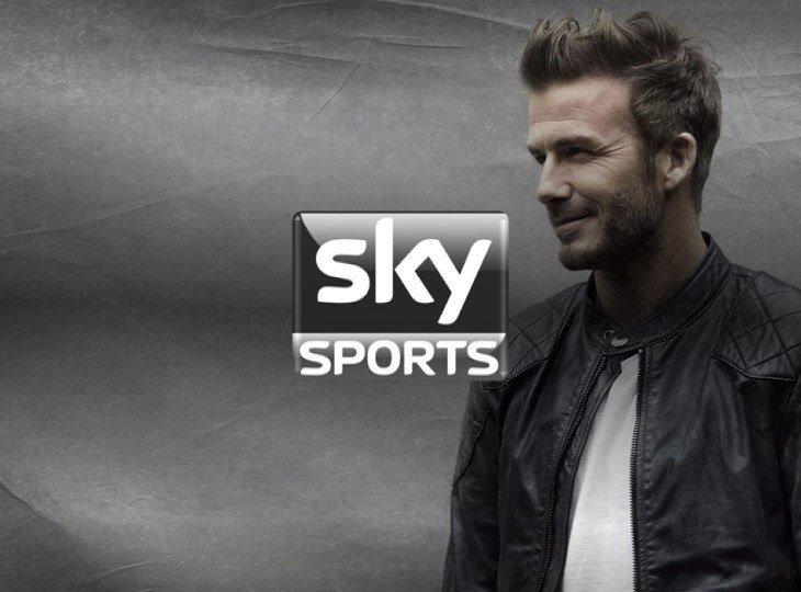 Девід Бекхем став послом бренду Sky Sports в 2013-му році