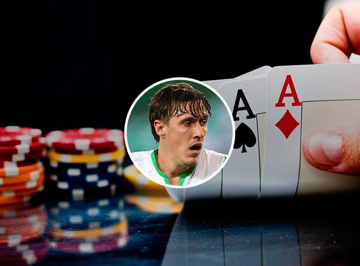Крузе відомий як пристрасний покерист