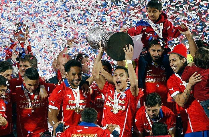 Збірна Чилі, чинний переможець турніру, не вважається головним фаворитом