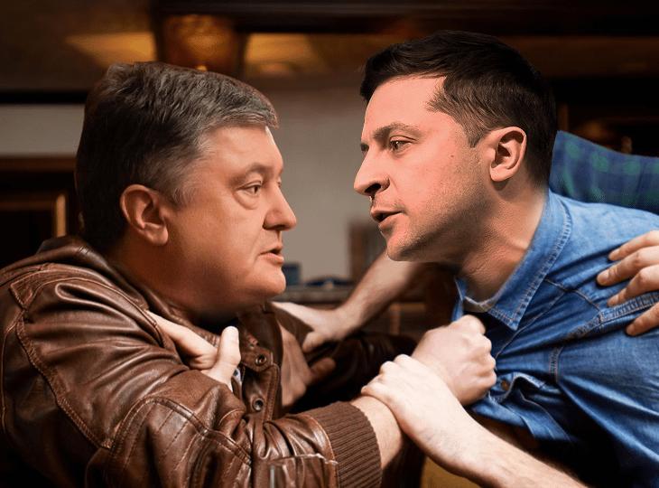 Букмекери приймають ставки на бійку Зеленського та Порошенка на дебатах