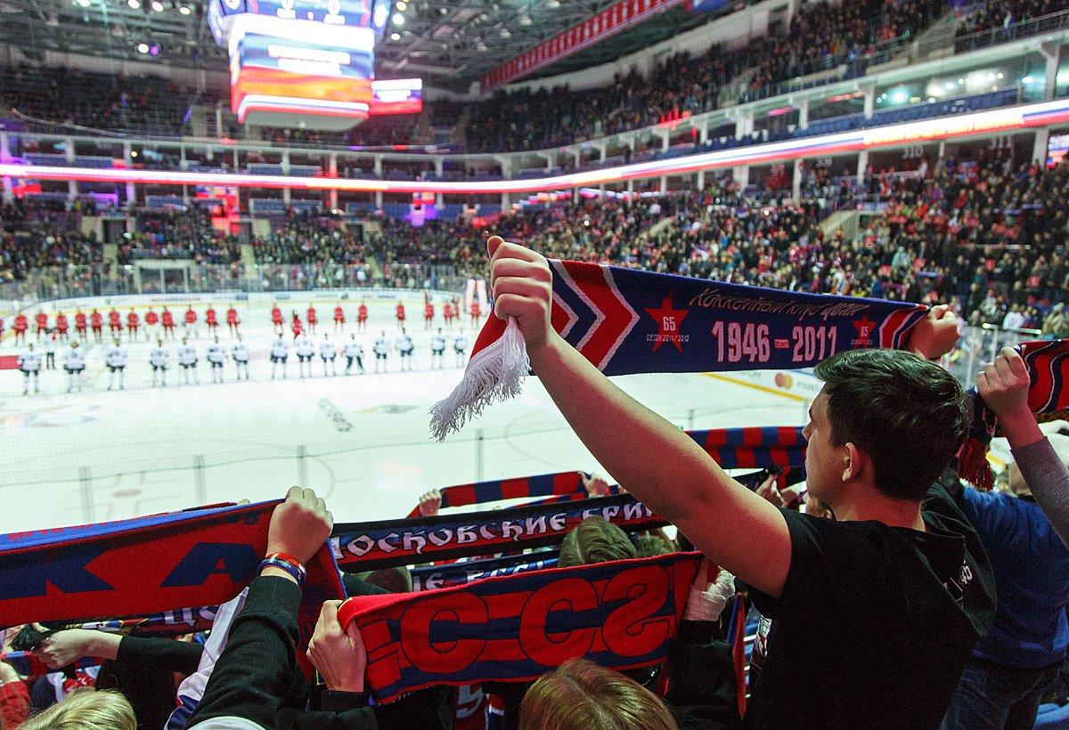 Атрибутика чемпиона КХЛ поступит в продажу в первый день нового сезона
